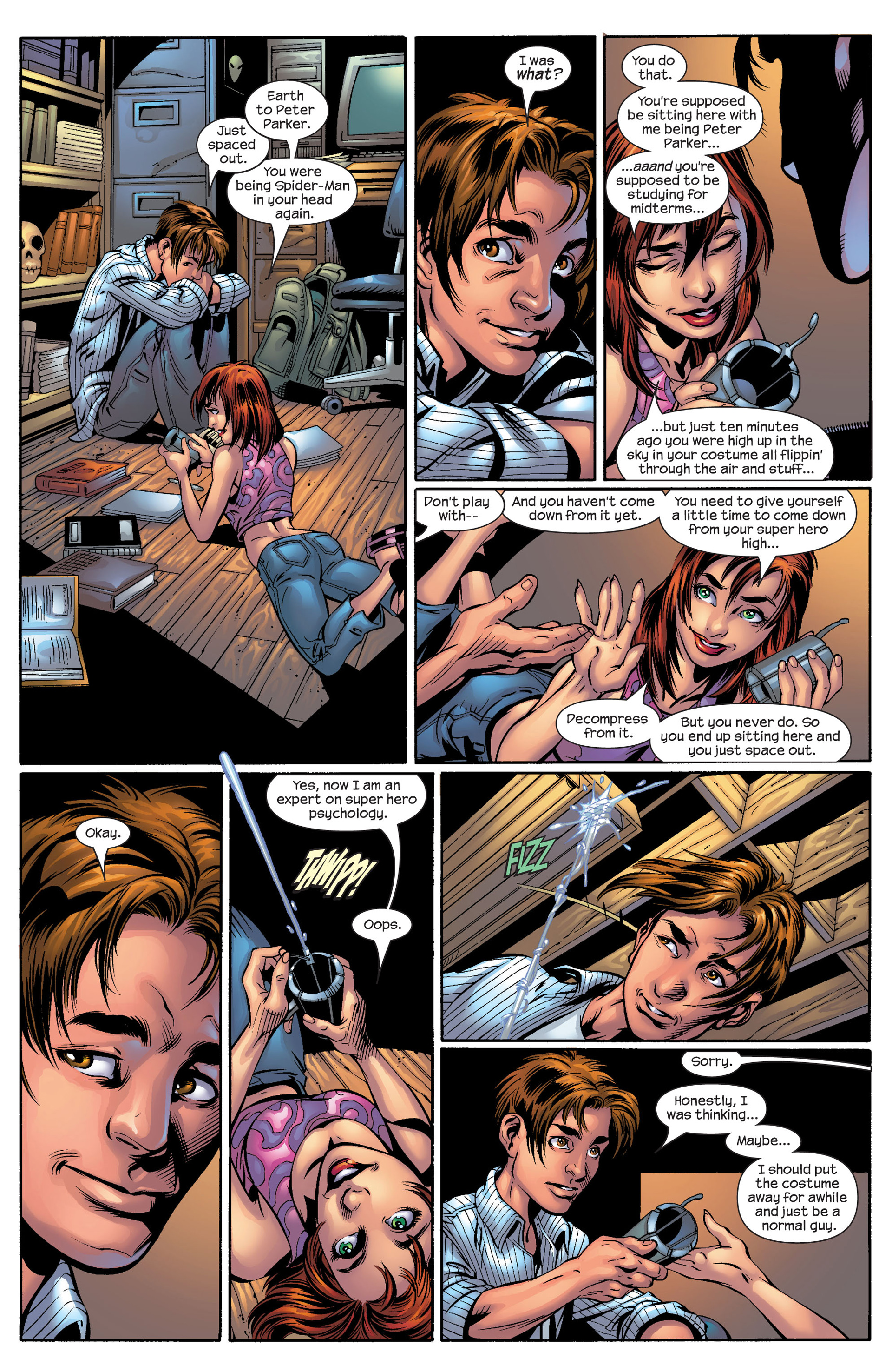 Read online Ultimate Spider-Man (2000) comic -  Issue #50 - 23