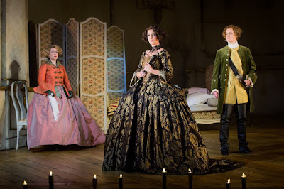 Der Rosenkavalier - Opera North - Fflur Wyn, Ylva Kihlberg, Helen Sherman - Photo Credit: Robert Workman