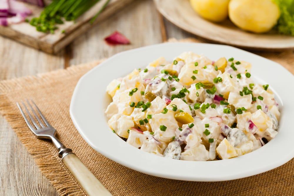 Resep Salad Kentang Saus Mayones