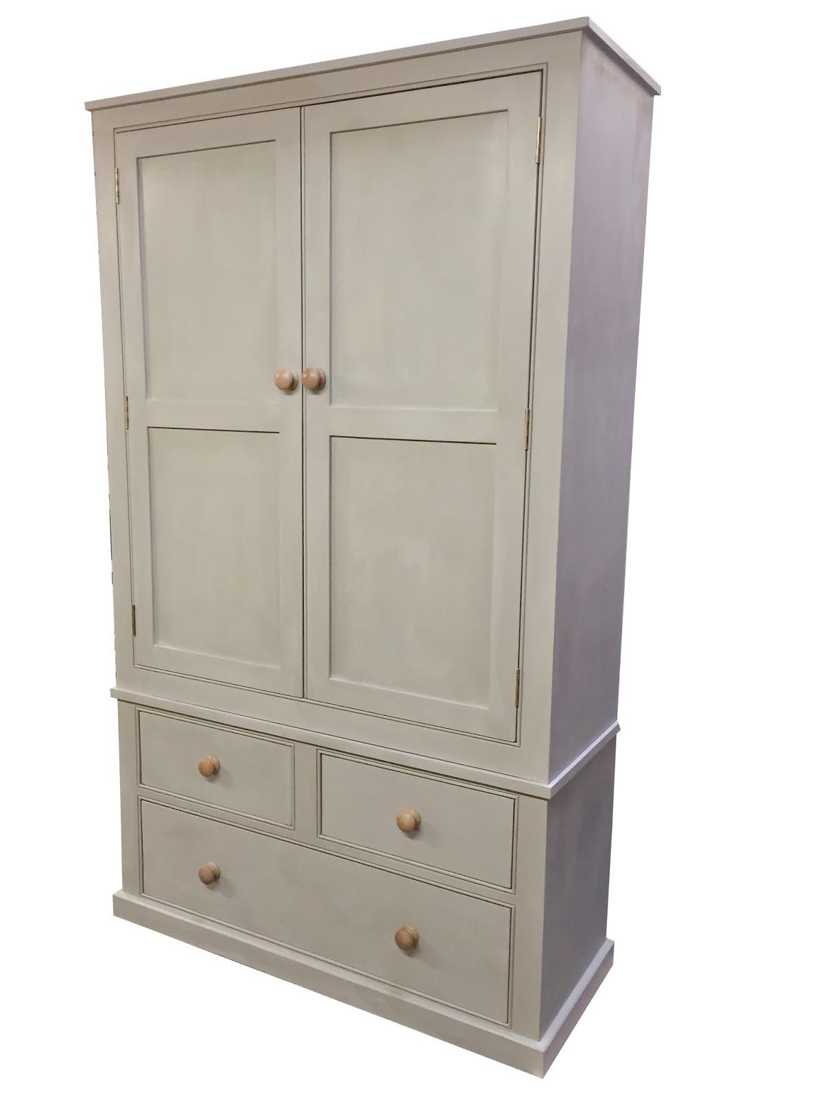 Kitchen larder unit farmhouse country pantry storage ebay - Country kitchen larder cupboard ...
