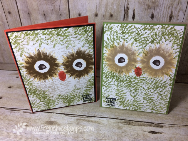 Painted Harvest, Owl, Stampin'Up!, Spooky Cat,