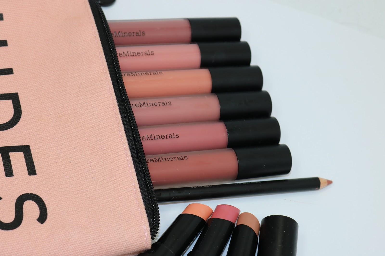 bareMinerals Gen Nude Matte Liquid Lip Color, Glosses, Lipsticks, Under Over Lipliner