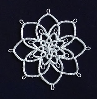 Darlene Polachic_Big Book of Tatting_Jack Frost Snowflake