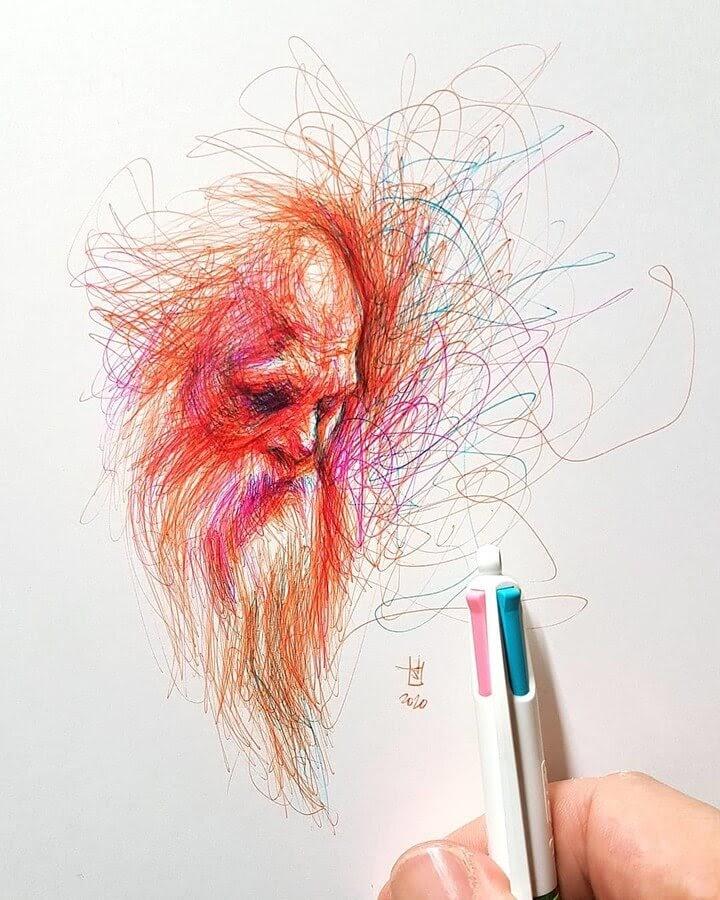 04-Alberto-Russo-Scribble-Drawings-www-designstack-co