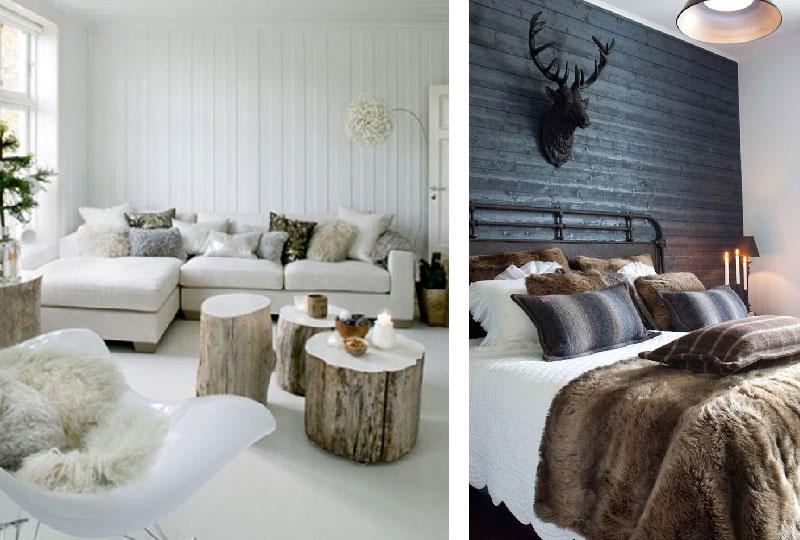 Decorare casa in inverno per renderla calda e accogliente for Accessori moderni per la casa