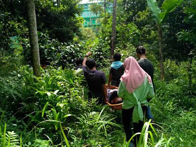 PKD Mapala Lampung dan Basarnas Gelar Latihan Gabungan SAR