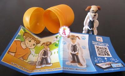 Как выглядит папа собака из мультика Барбоскины в киндерах?