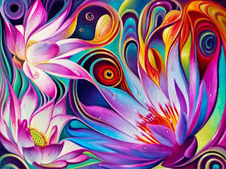 flores-modernos-al-oleo