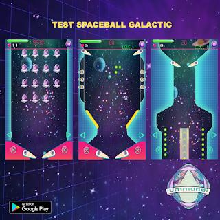 jeu mobile, jeu android, flipper, espace, arcade, ummundi