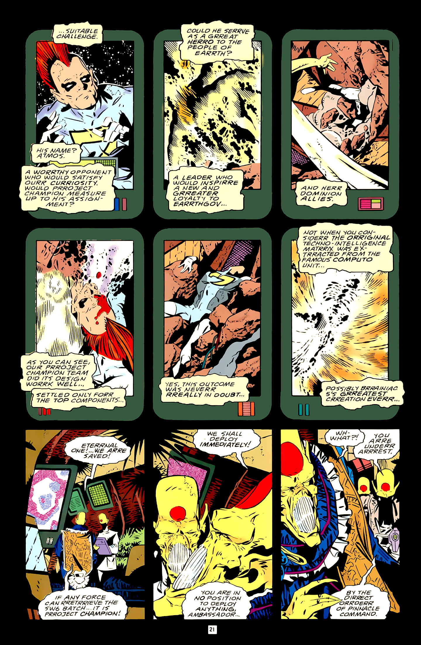 Legion of Super-Heroes (1989) 21 Page 21