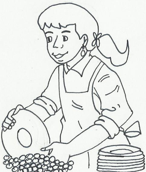 Imagenes Y Dibujos Para Colorear Dibujos Mujeres Para Colorear
