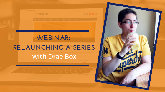 Relaunching Your Book with Drae Box