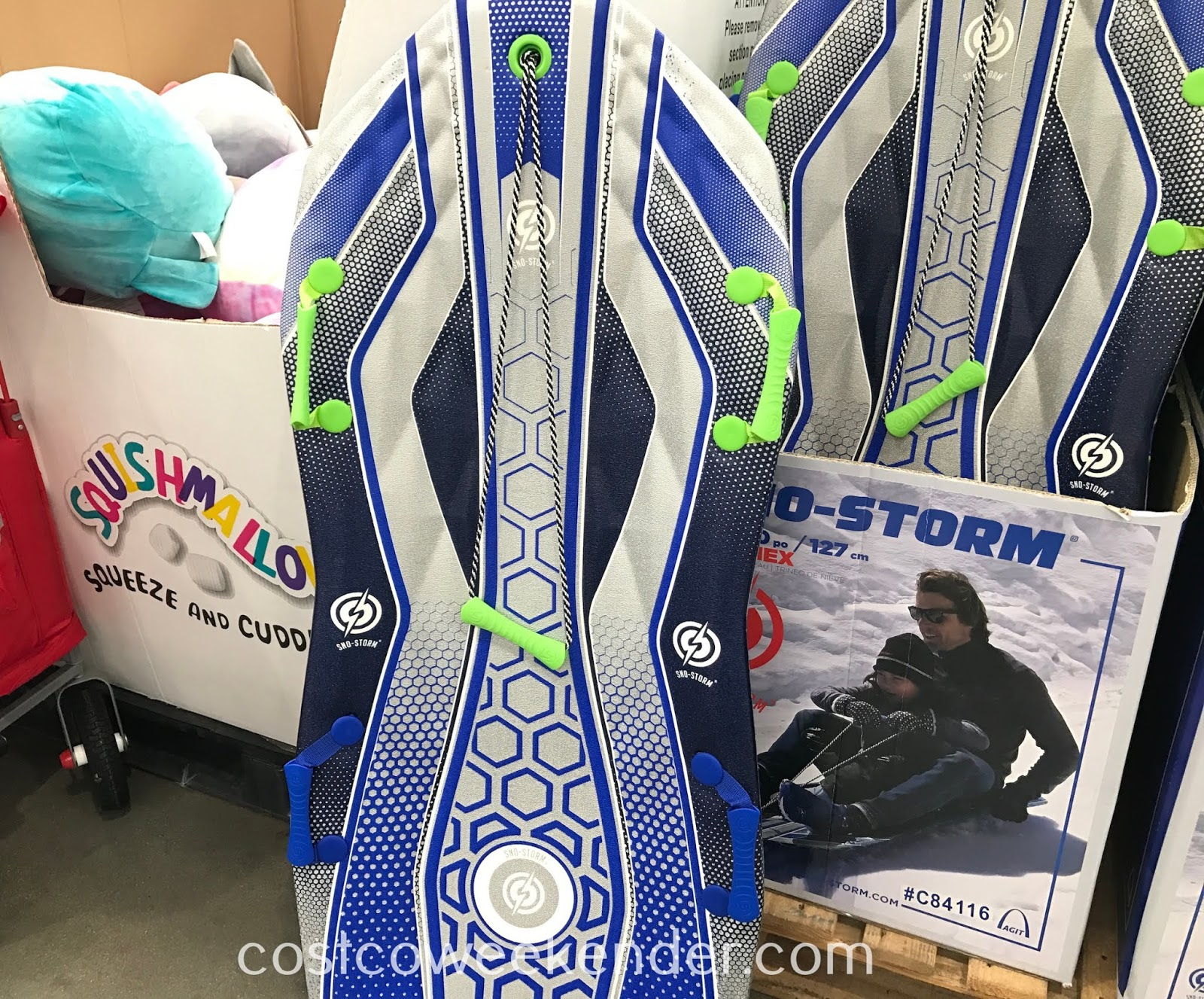 Have fun in the snow with the Sno-Storm Vipernex Snow Sled