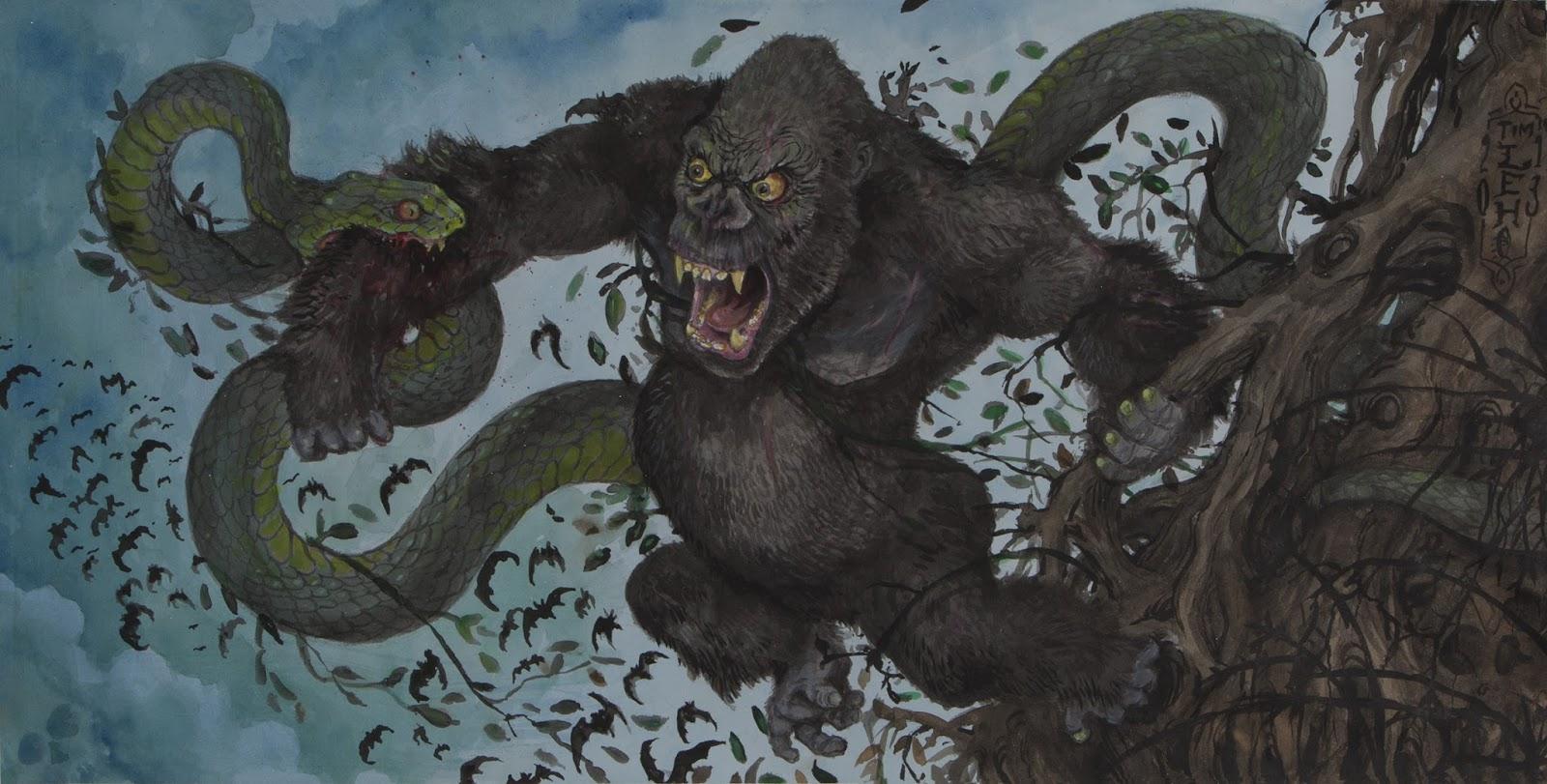 TIM LEHI: Gorilla Snake Battle 2013 for Osti.