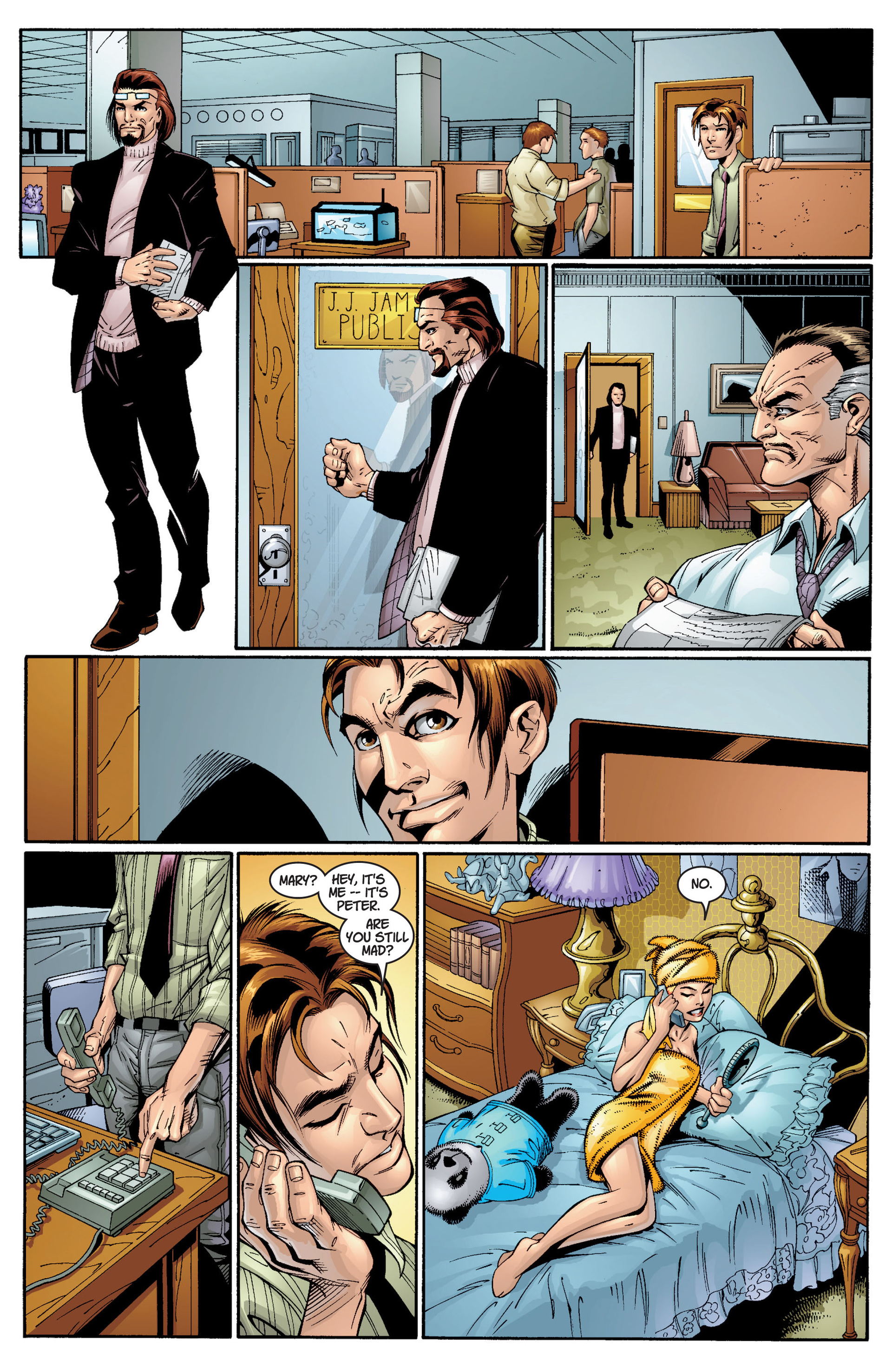 Read online Ultimate Spider-Man (2000) comic -  Issue #12 - 19