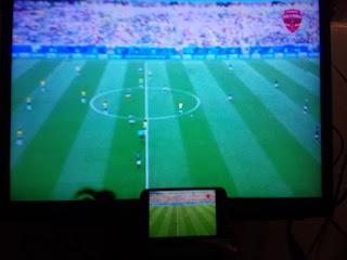 transfer gambar hape ke tv