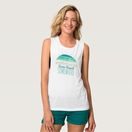 Beach Quote Tank Top