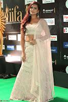 Prajna Actress in backless Cream Choli and transparent saree at IIFA Utsavam Awards 2017 0047.JPG