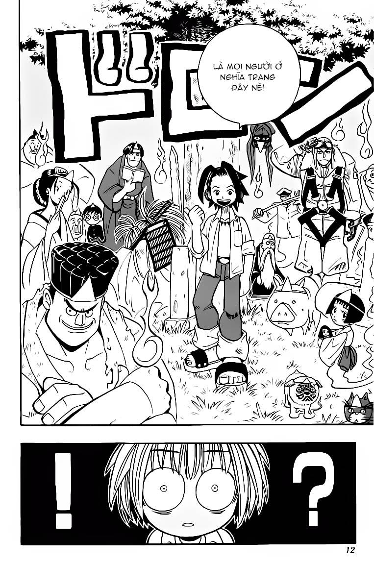 Shaman King [Vua pháp thuật] chap 1 trang 13