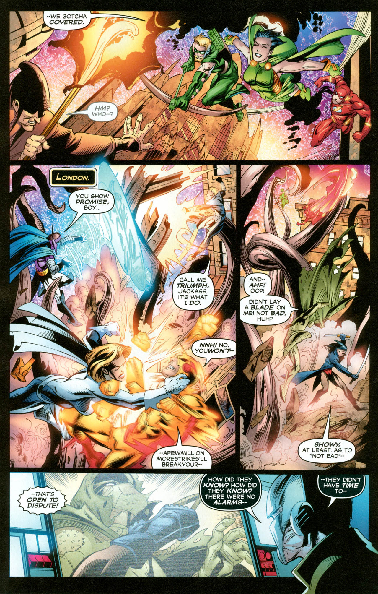 Read online Trinity (2008) comic -  Issue #31 - 11