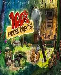 100% Hidden Objects cover, ComputerMastia