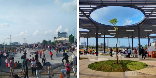 Jadi Taman Kota, Kawasan Kalijodo Kini Makin Ramai