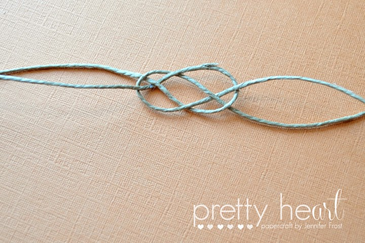 How To Tie A Twine Sailors Knot Papercraft By Jennifer Frost