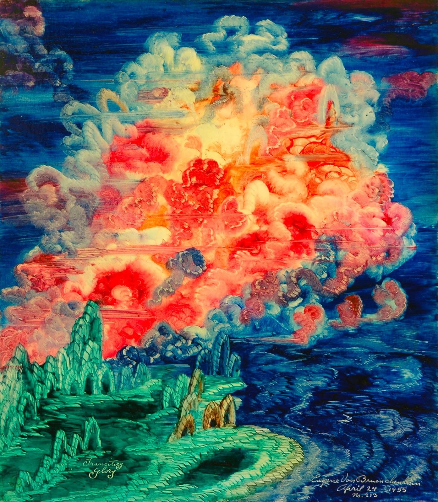Appendage: Eugene Von Bruenchenhein - Paintings
