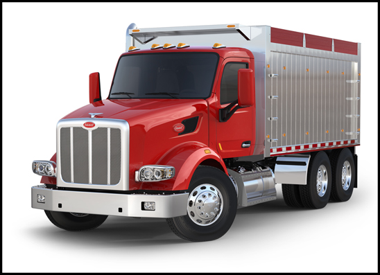 Peterbilt model 567 Dump Truck