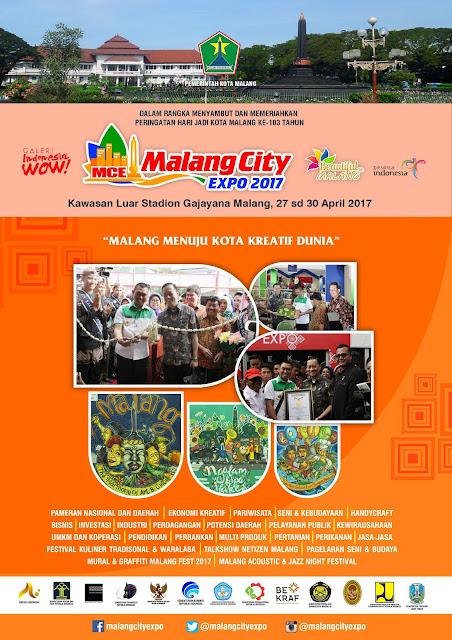 Malang City Expo 2017 di Stadion Gajayana