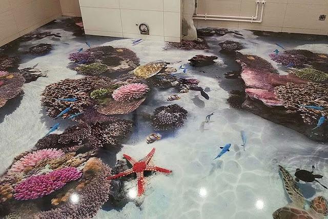 gạch 3d rạn san hô