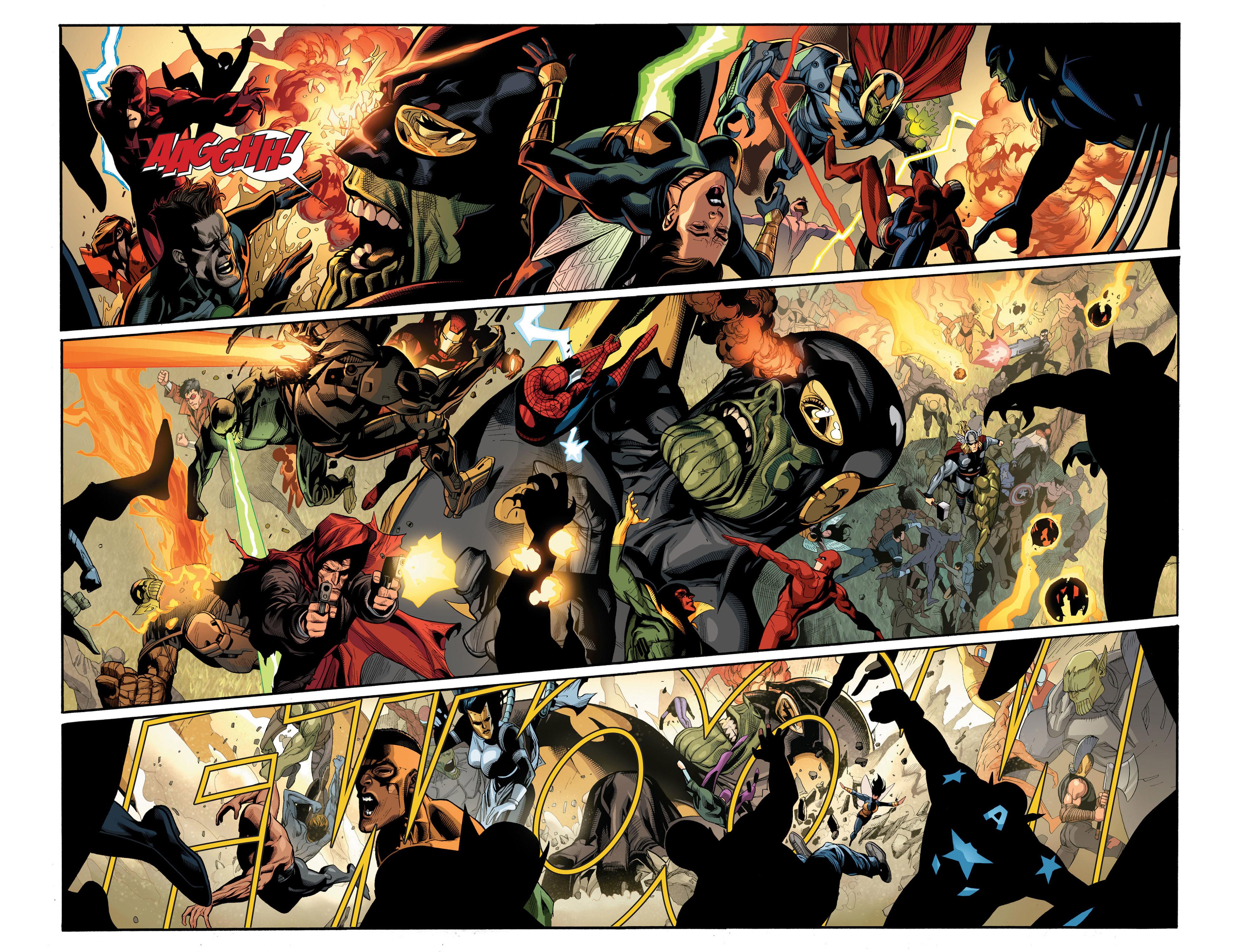 Read online Secret Invasion comic -  Issue #7 - 8