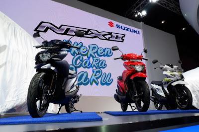 Launching Suzuki Nex II