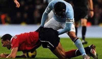 lustige Bilder Fussball kann schon manchmal schweinisch sein