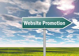 website promoting