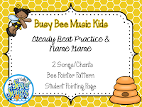 Busy Bee Music Kids Steady Beat Practice & Name Game