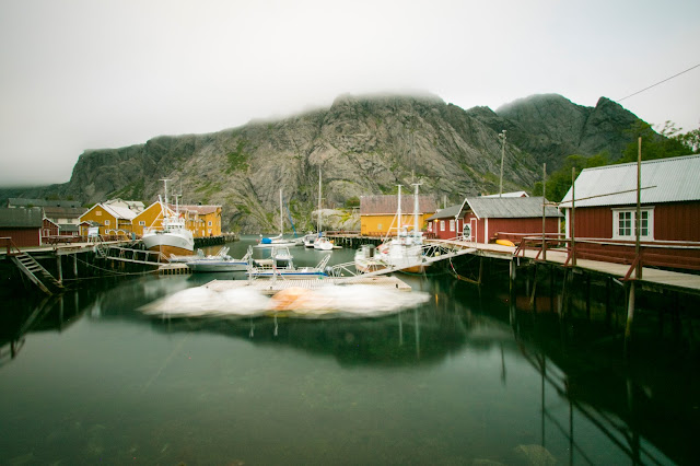 Rorbuer a Nusfjord-Isole Lofoten