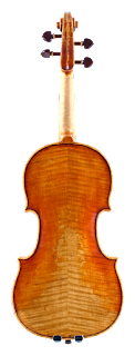 Violin backplate in copy of Guadagnini by Nicolas Bonet