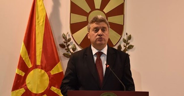 Macedonia: President Ivanov not signing language law