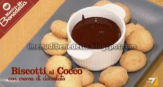 Biscotti Al Cocco Con Cioccolata La Ricetta Di Benedetta Parodi