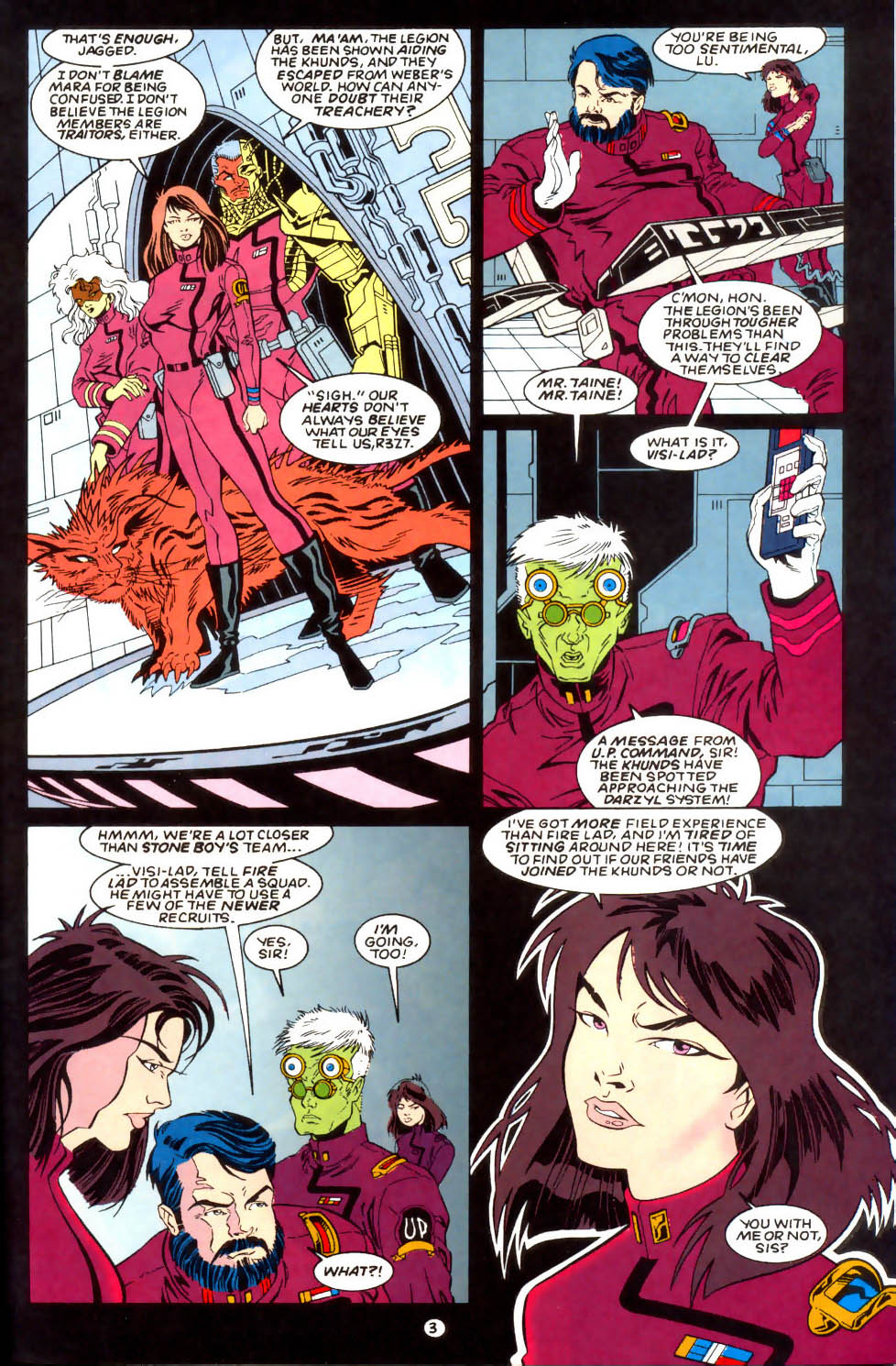 Legion of Super-Heroes (1989) 57 Page 3