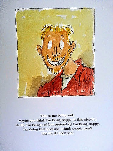 Michael Rosen Sad Book for children of all ages