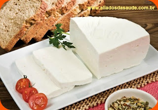 Queijo branco - Benefícios do queijo branco a nossa saúde