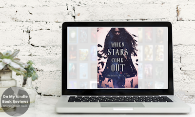 Front cover of WHEN STARS COME OUT by Scarlett St. Clair on laptop computer screen