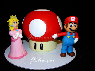 Tarta seta de Super Mario