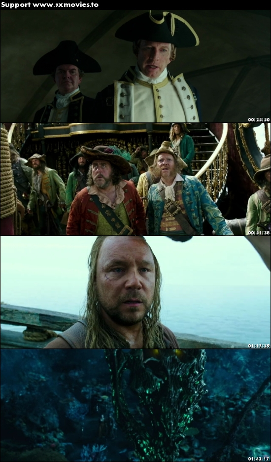 Pirates of the Caribbean Dead Men Tell No Tales 2017 Dual Audio Hindi 480p BluRay 400MB