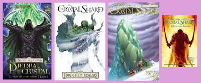 portadas del cómic La piedra de Cristal