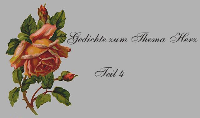 Gedichte Und Zitate Fur Alle Das Herz In Gedichten Deutscher