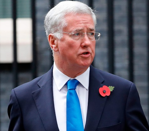 UK defense secretary Michael Fallon resigns after allegation of inappropriate conduct