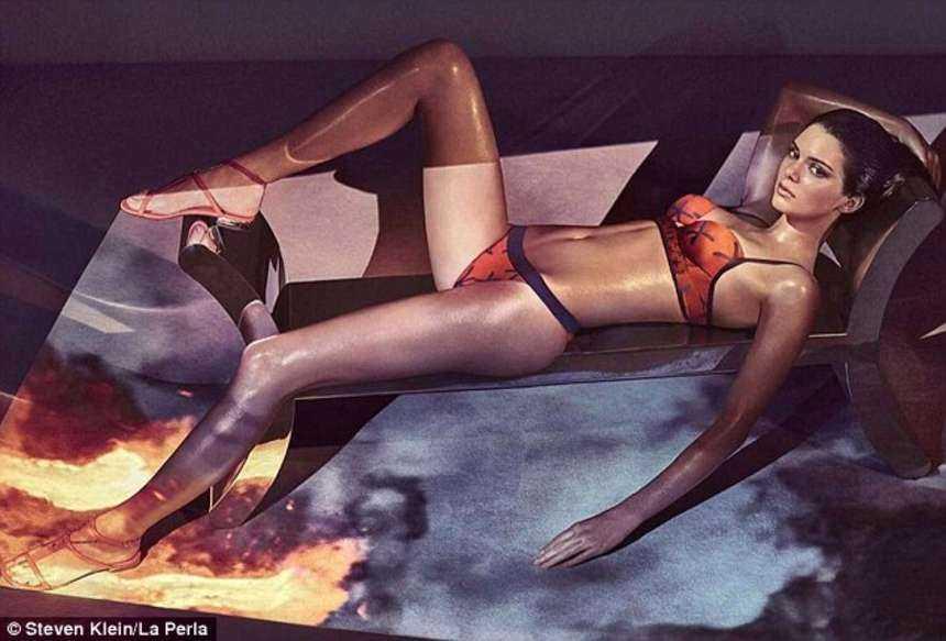 Kendall Jenner for La Perla 2017 Spring/Summer Campaign